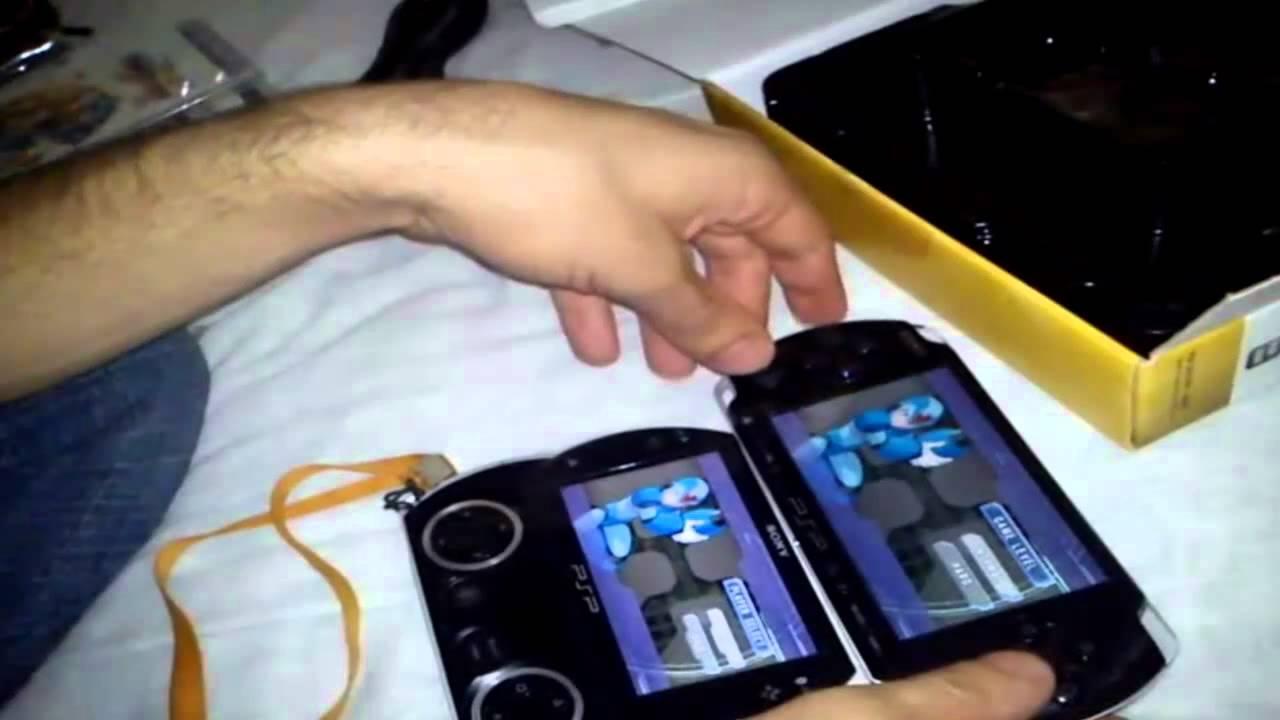 Psp go vs Psp 3000 Youtube Psp 3000 Unboxing Psp go