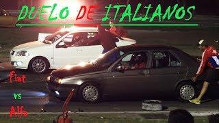 DUELO DE MARCAS ITALIANAS - Alfa Romeo 155 vs Fiat Siena