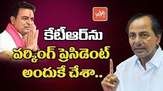 CM KCR Reveals Reason Behind KTR Working President Post | Harish Rao | Telangana News