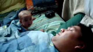 Baby Scared By Snoring