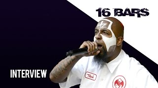Tech N9ne Talks the Art of Freestyling - 16 Bars Interview