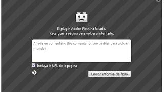 SOLUCION RAPIDA. Shockwave Flash de Firefox puede estar ocupado, el plugin Adobe Flash ha fallado