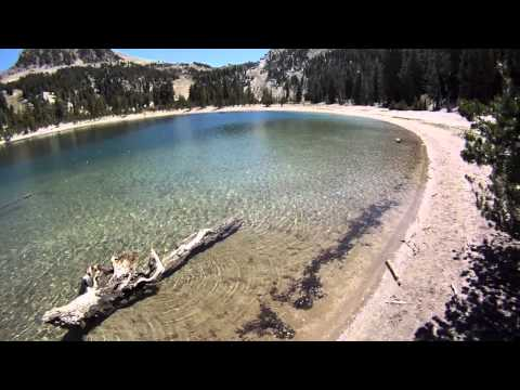 Bike Crash Mammoth Mountain Summer 2011 Aerial Photos, Twins Lakes, trip to the ER