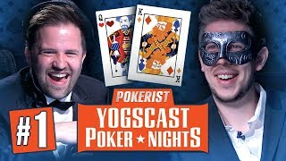 Yogscast Poker Nights 2018 #1 - Kings and Cowboys