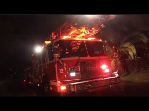 Firefighters Find Marijuana Grow Operation During House Fire - Modesto, California