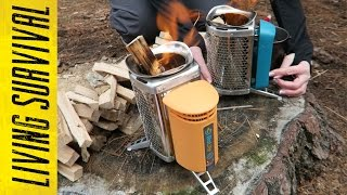 BioLite Camp Stove vs. Cook Stove Side-by-Side