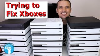I bought 18 broken Xboxes - Can I Fix Them and Make Money?
