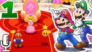 ✯ Mario & Luigi: PAPER JAM ✯   Ep 1: ¡Comienza la AVENTURA! [FULL HD 60fps]