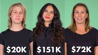 Women of Different Salaries on If They Got a $5,000 Medical Bill | Glamour