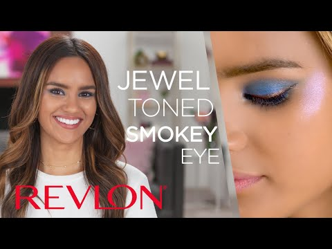Bold Jewel-Toned Smokey Eye ft. Dacey   The Limited Edition Color Charge Collection   Revlon