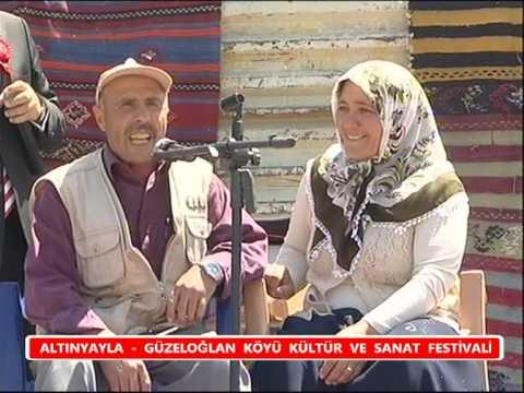 Sivas Güzeloglanköyü 2010 yaz senlikleri ilhami Günes´in kendine has kina yakma tarzi