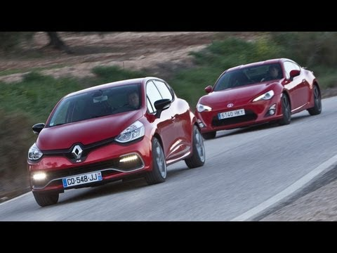 Renault Clio RS 200 Turbo vs Toyota GT86 - autocar.co.uk