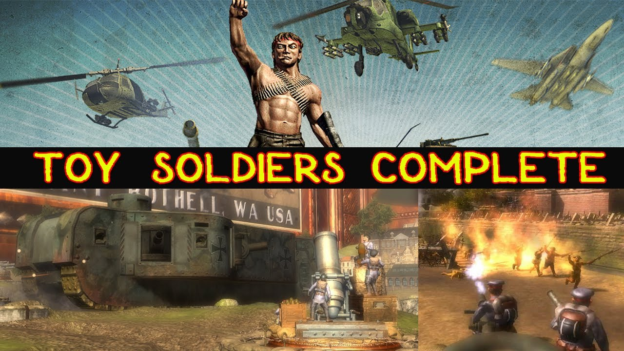 Tanks And Soldiers Games