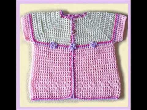ropita para bebe tejidos a crochet