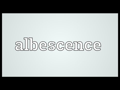Header of Albescence