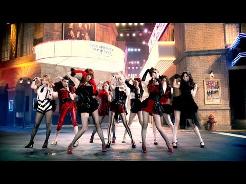 GIRLS' GENERATION 少女時代_PAPARAZZI_Music Video