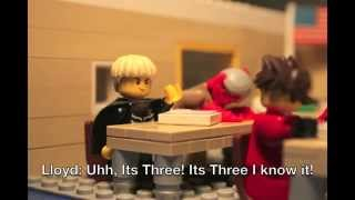 Ninjago Stop Motion short: Lloyd goes to school.