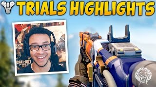 "Destiny: Trials of Osiris Flawless ""THAT WAS EASY!"" (Rise of Iron Trials Highlights & Lighthouse)"