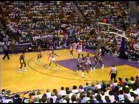 May 13, 1990 Lakers@Suns (Magic Johnson 43 points 10 assis, Kevin Johnson 30 points 16 assis)
