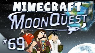 Minecraft Galacticraft - MoonQuest 69 - I'm Eating A Cookie!