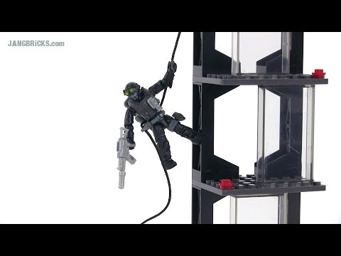 Mega Bloks Call of Duty 06865 Rappel Fighter set review!