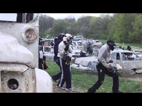 Wasteland, Capture the flag, CPX Paintball