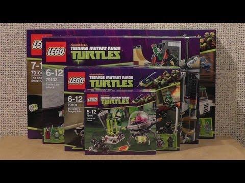 NOWOŚCI STYCZEŃ 2013 LEGO TURTLES