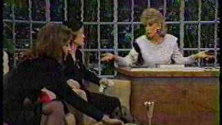 "BETTE DAVIS on ""LATE SHOW WITH JOAN RIVERS"" 1987 (2/2)"