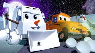 những chiếc xe tải dành cho thiếu nhi - Người tuyết OLAF Sam - cửa hàng sơn của Tom 🎨