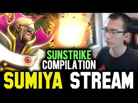 SUMIYA Best Sunstrike Compilation | SUMIYA Invoker Stream Moments #608