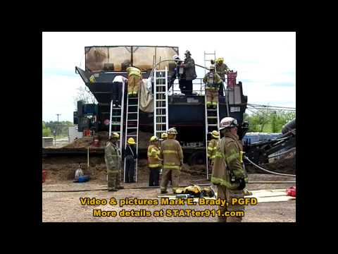 STATter911.com: PGFD technical rescue with medical Go Team in Laurel, ...