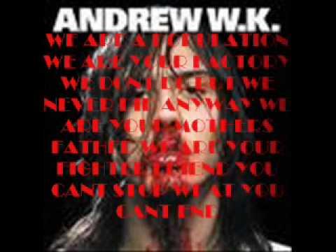Andrew W K - I Love N.y.c