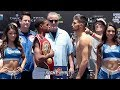 ERROL SPENCE VS CARLOS OCAMPO FULL WEIGH IN AND FACE OFF - DALLAS, TEXAS