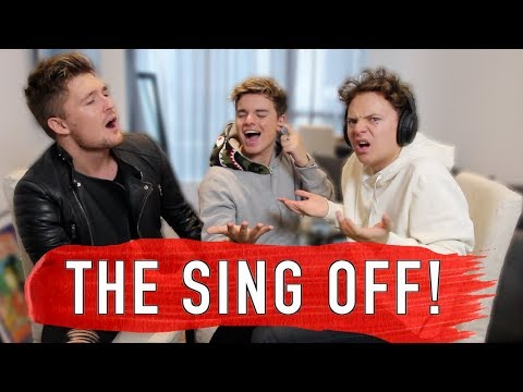 THE SING OFF VS CONOR MAYNARD & MIKEY PEARCE