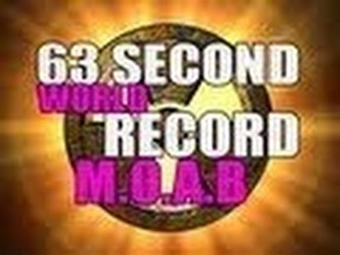 M.O.A.B IN 63 SECONDS - WORLD RECORD [COD MW3]