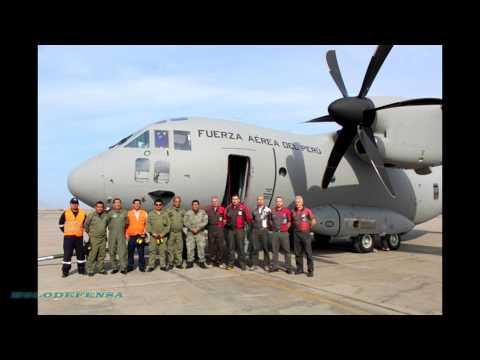 El primer C-27J SPARTAN ya se encuentra en Perú