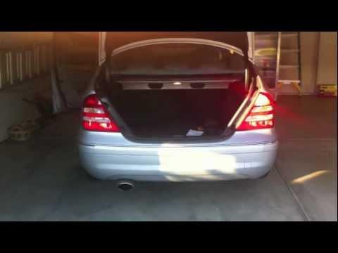 Tail Light Wiring Mercedes  Cdi