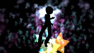 Vjing Vj loop clip Afro Girl Star Dancer hd 720p - 001