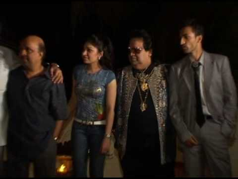 Bappi Lahiri at the music success bash of Jai Veeru