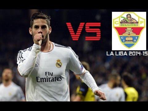 Isco vs Elche | Real Madrid vs Elche 5-1 | La Liga 2014/15 (H)