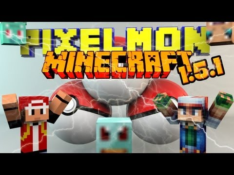 Minecraft Mod 1.5.1/1.5.2 PIXELMON/POKEMON [German/HD+] Preview. Download + Installation