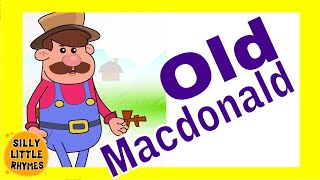 Old MacDonald had a Farm | Animated Engilsh Kids Nursery Rhymes | Cartoon Songs in HD For Children