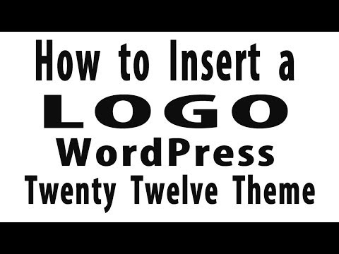 How to Add a Logo - WordPress Twenty Twelve Theme | Theme Logo Plugin