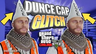 GTA 5 Dunce Cap Glitch! Save Bad Sport Secret Dunce Cap! GTA 5 Online Clothing! (GTA 5 Glitches)