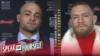 Conor McGregor and Eddie Alvarez preview UFC 205 | SPEAK FOR YOURSELF