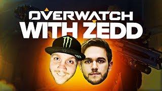 Overwatch Games With Zedd Overwatch Highlights W Timthetatman