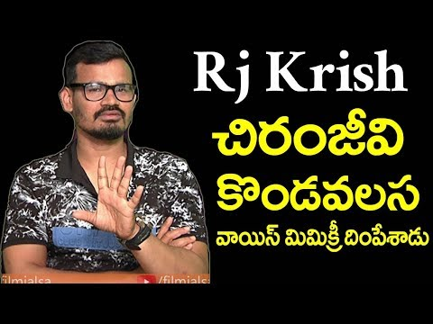 Rj Krish  Hilarious Mimicry of Tollywood Superstars | Exclusive Interview | Film Jalsa