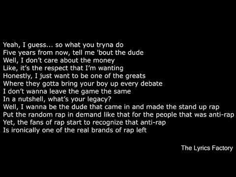 Lil Dicky - Professional Rapper (Feat  Snoop Dogg) LYRICS