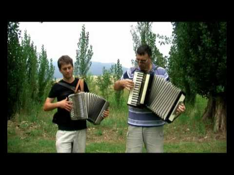 Lights On The Hill (Slim Dusty) - Accordion Duet
