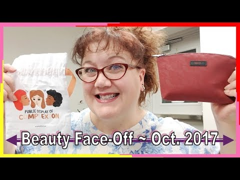 Beauty FaceOff ~ October 2017 Ipsy and Sephora Play Reviews